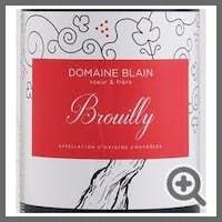 Domaine Blain Soeur & Frere Brouilly 2018