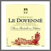 Chateau le Doyenne Bordeaux Rouge 2018