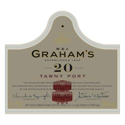 Graham's 20year Tawny Port 750ml image