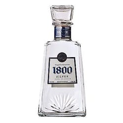 1800 Silver 80prf 1.0L Tequila image