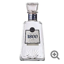 1800 Silver 80prf 1.0L Tequila