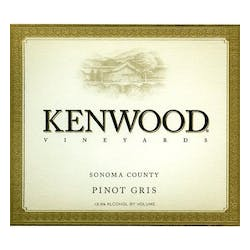 Kenwood Vineyards Pinot Gris 2012 image