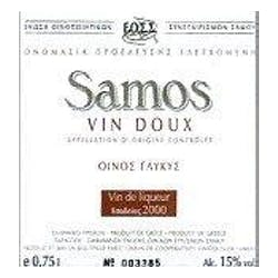 Samos Winery Muscat Vin Doux 2014 500ml image