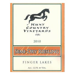 Hunt Country Vineyards Semi Dry Riesling 2011 image