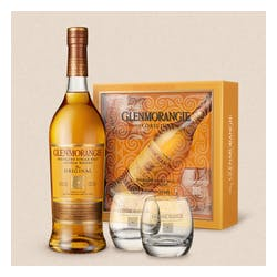 Glenmorangie GIFT w/2 Glasses 10Yr Single Malt 750ml image