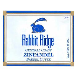Rabbit Ridge Estate 'Barrel Cuvee' Zinfandel 2010 image