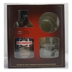 Drambuie w/2 Glass GIFT 750ml Whisky Liqueur image