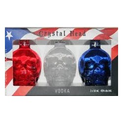 Crystal Head 'Patriot' 3-Pk Gift Set 50ml image
