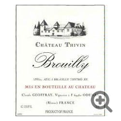 Chateau Thivin Brouilly 2008