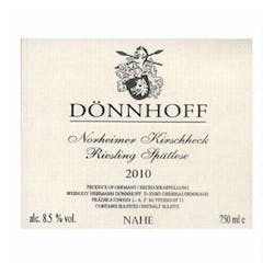 Donnhoff 'Kirschheck Spatlese' Riesling 2010 image