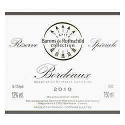 Barons de Rothschild Lafite Reserve Speciale 2012 image