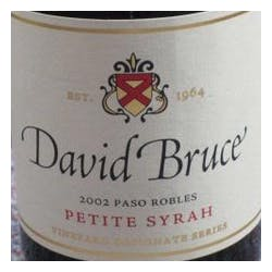 David Bruce 'Shell Creek' Petite Sirah 2006 image