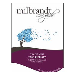 Milbrandt Vineyards Estate Merlot 2009 image