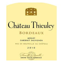 Chateau Thieuley Bordeaux 2009 image