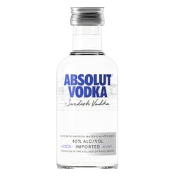 Absolut 80prf 50ml image