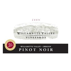 Willamette Valley Vineyards Pinot Noir 2009 image