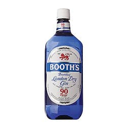 Booth's 'Dry Blue' London Dry Gin 1.75L image