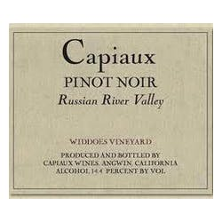 Capiaux 'Widdoes Vyd' Pinot Noir 2010 image
