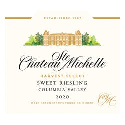 Chateau Ste. Michelle Harvest Select Riesling 2017 image