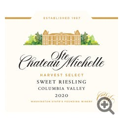 Chateau Ste. Michelle Harvest Select Riesling 2017