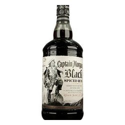Captain Morgan Black Spiced Rum 1.0L image