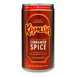 Kahlua Iced Coffee 'Cinnamon' 200ml image