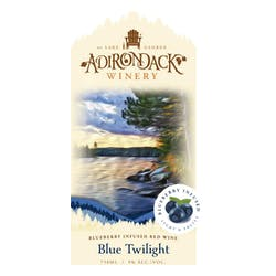 Adirondack Winery 'Blue Twilight' Red Blend NV image