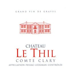 Chateau Le Thil 'Comte Clary' Rouge 2009 image