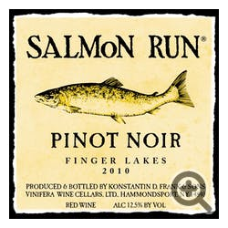 Salmon Run Pinot Noir 2013