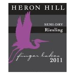 Heron Hill 'Semi Dry' Riesling 2011 image