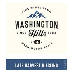 Washington Hills Late Harvest Sweet Riesling 2017 image