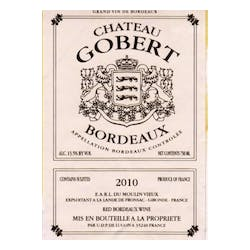 Chateau Gobert Bordeaux Rouge 2010 image