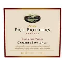 Frei Brothers 'Reserve' Cabernet Sauvignon 2009 image