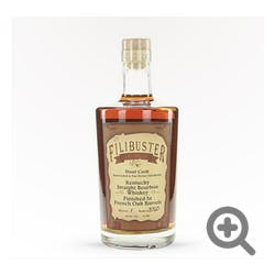 Filibuster Dual Cask Finished Bourbon 750ml 90proof