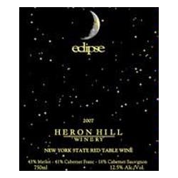 Heron Hill Winery 'eclipse' Red 2008 image