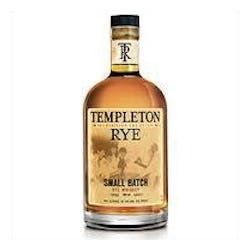 Templeton 4yr Rye Whiskey 750ml image