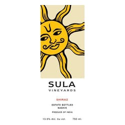 Sula Vineyards Shiraz 2013 image