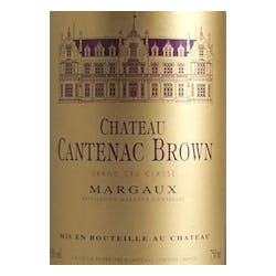 Chateau Cantenac Brown 2010 image