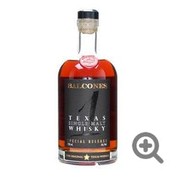Balcones '1' 105.4prf 750ml Texas Single Malt Whisky