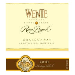 Wente Vineyards 'Riva Ranch' Reserve Chardonnay 2010 image