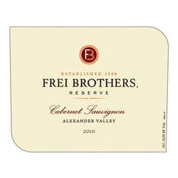 Frei Brothers 'Reserve' Cabernet Sauvignon 2010 image