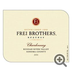 Frei Brothers 'Reserve' Chardonnay 2011