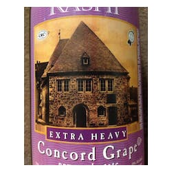 Rashi 'Extra Heavy' Red Concord Grape NV image