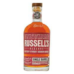 Russell's Reserve Single Barrel Bourbon 110proof image