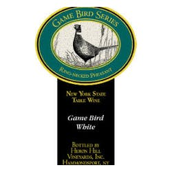Heron Hill Winery 'Game Bird' White Blend NV image