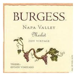 Burgess Vineyards Merlot 2009 image