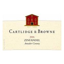 Cartlidge & Browne Zinfandel 2011 image