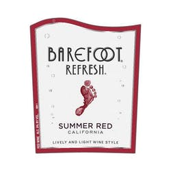Barefoot Winery 'Refresh' Summer Red Spritzer NV