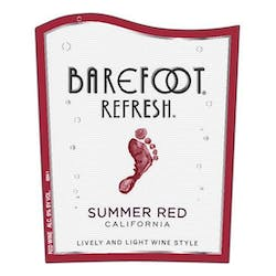 Barefoot Winery 'Refresh' Summer Red Spritzer NV image