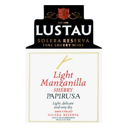 Lustau 'Papirusa' Sherry Light Manzanilla NV image